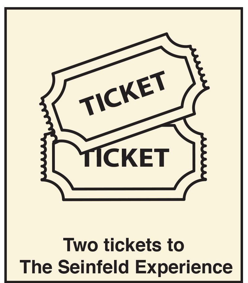 Two Tickets to Seinfeld Experience
