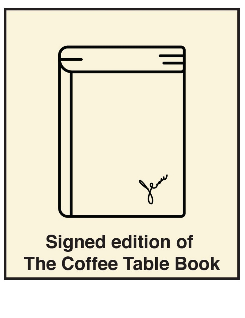 Signed Coffee Table Book