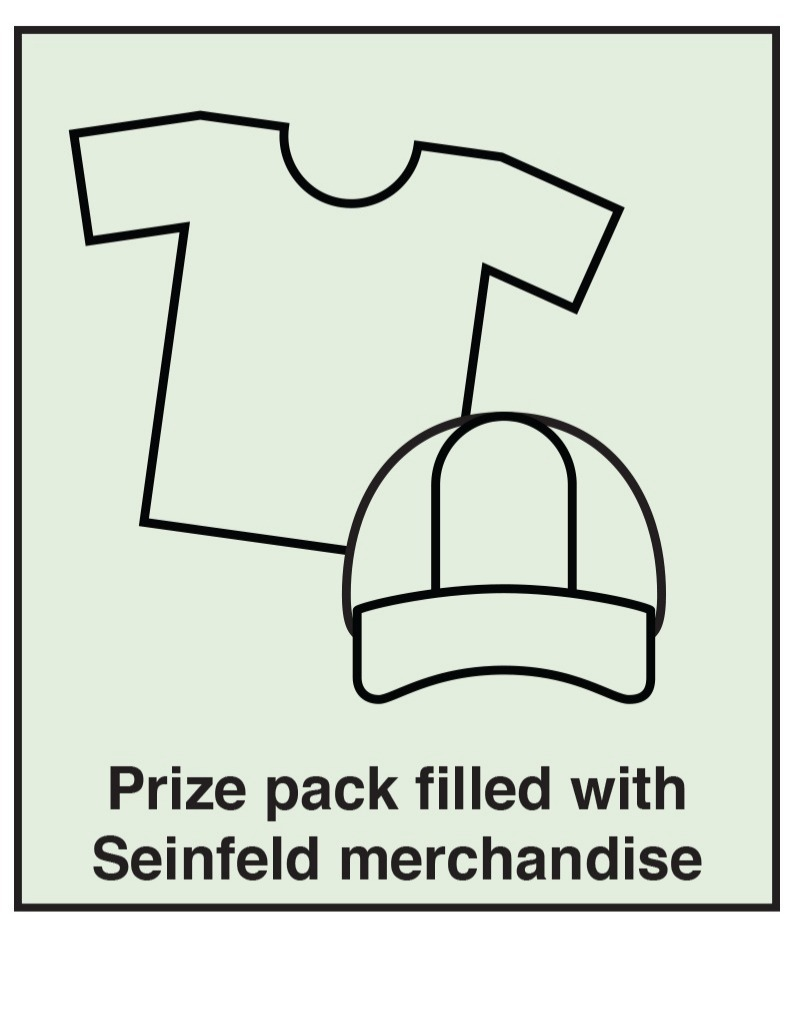 Seinfeld Merch Prize Pack